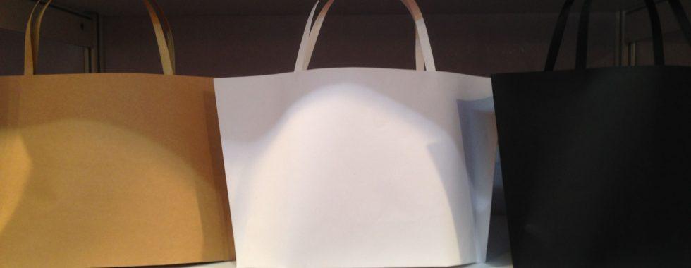 Creative Promo Packaging Idea - Paper Shaped Handbags
