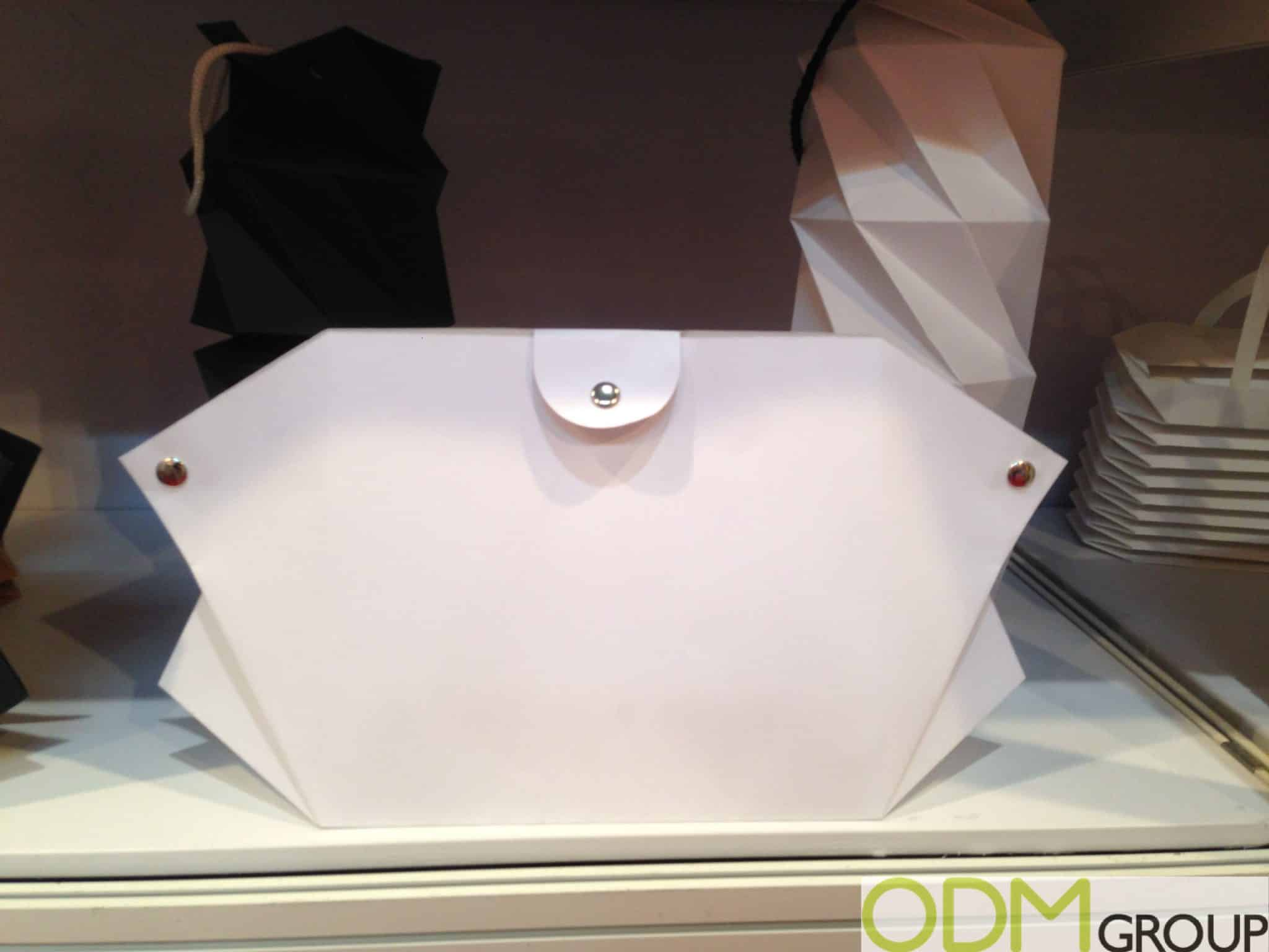 Creative Promo Packaging Idea - Paper Shaped Handbags