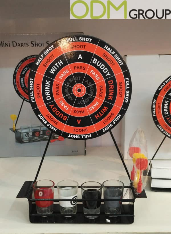 Drink Industry Promo - Mini Darts Game Shot Set