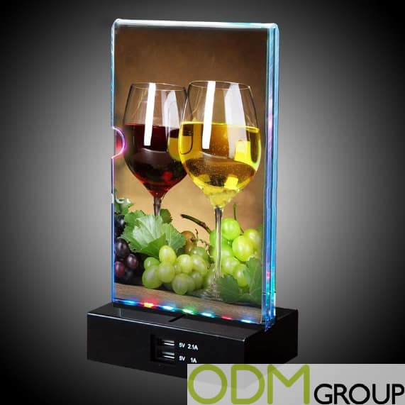 Drinks Promotion Idea LED Menu Power Bank