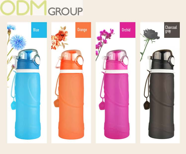 Foldable and compact Custom Travel Bottle