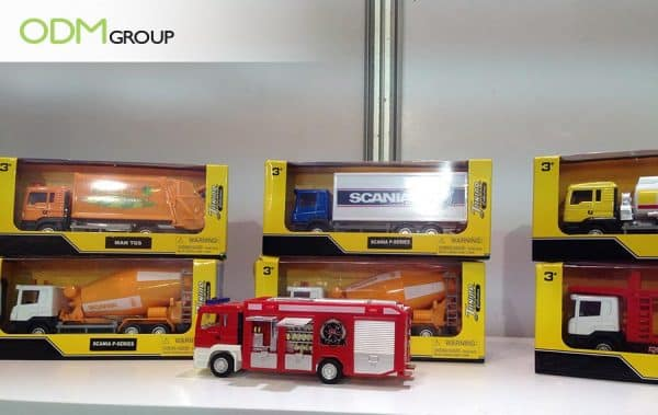 Freight Industry Ideas - Branded Toy Trucks