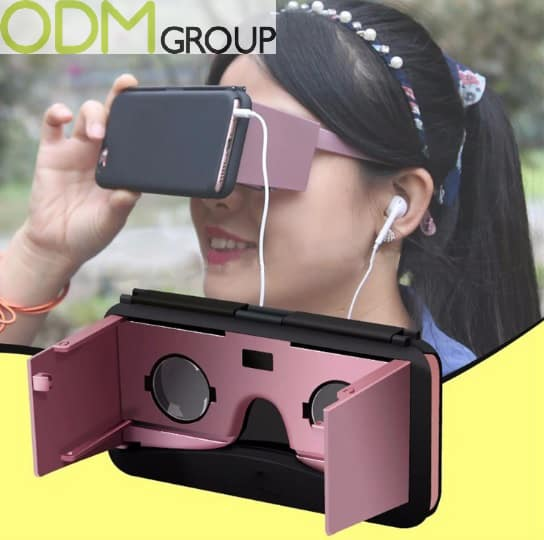 Innovative Marketing - Branded VR Goggles