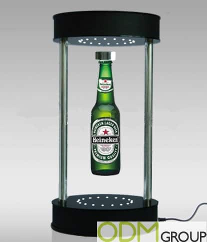 Maximise Your In Store Marketing With A Levitating Display