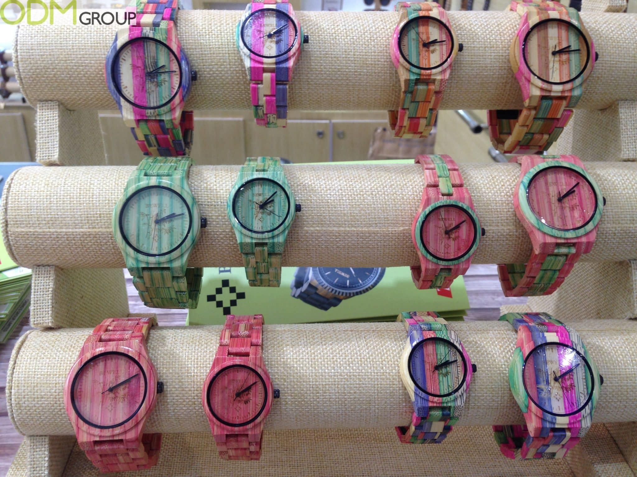 Promotional Bamboo Products - Stylish Wrist Watches