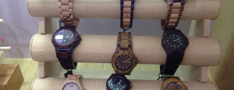 Promotional Bamboo Products - Stylish Wrist Watches