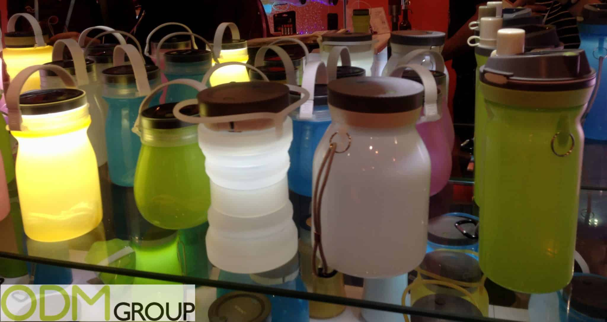 Promotional Camping Products - Silicone Bottle Lanterns