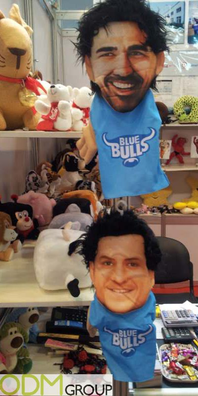Promotional Sports Merchandise - Plush Hand Puppets