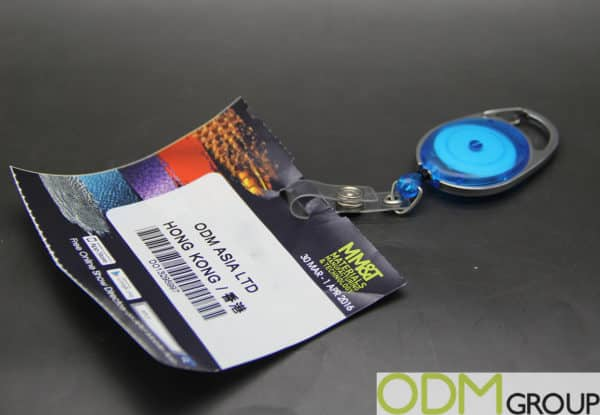 Retractable Badge Reels for Corporate Promotions