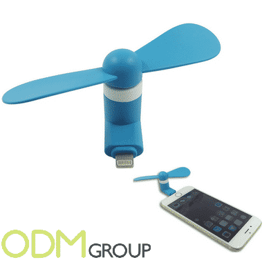 Summer Marketing Gifts to Keep Cool Mobile Powered USB Fans
