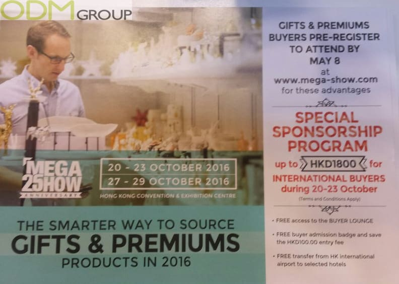 Trade Show Giveaway Overseas Buyers Love