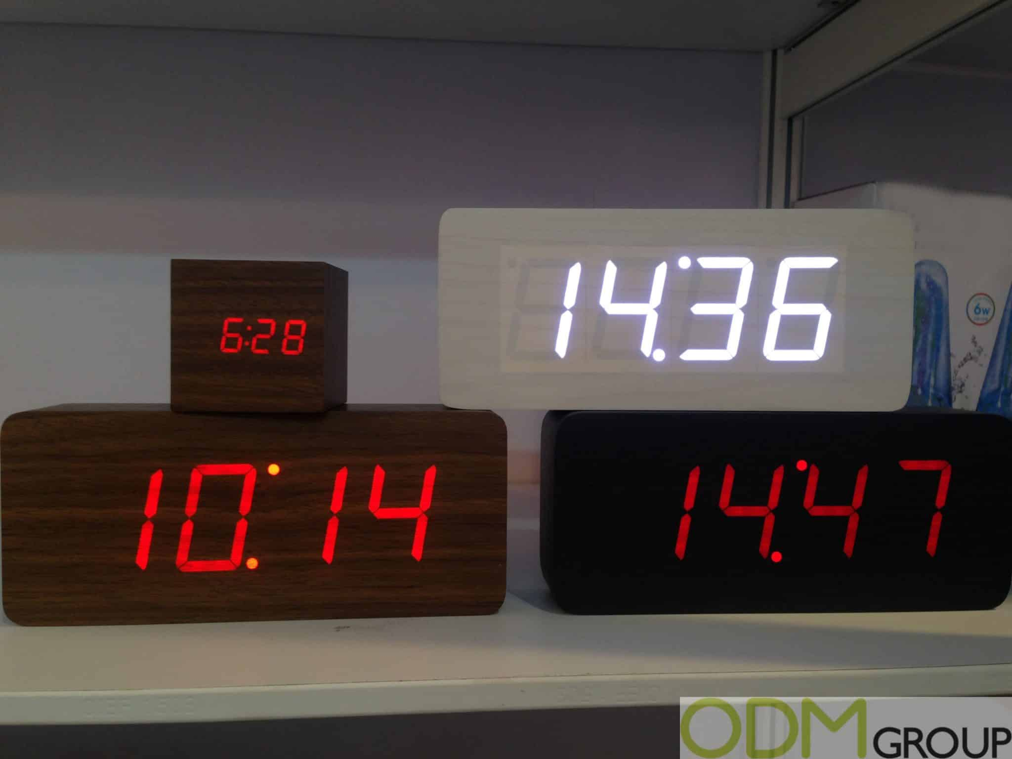 Wake Up to a Bedroom Promo – Branded Alarm Clocks