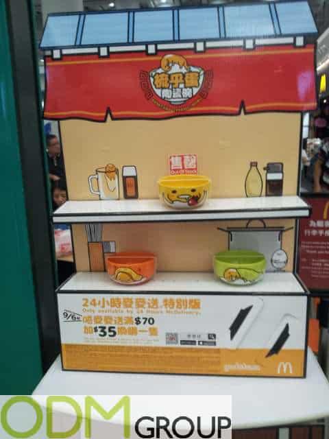 Custom Ceramic Bowl - McDonalds x Sanrio PromoCustom Ceramic Bowl - McDonalds x Sanrio Promo