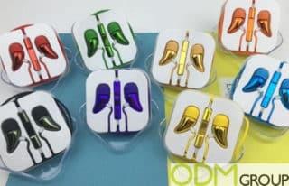 Custom Earphones - Unique Design For Your Brand