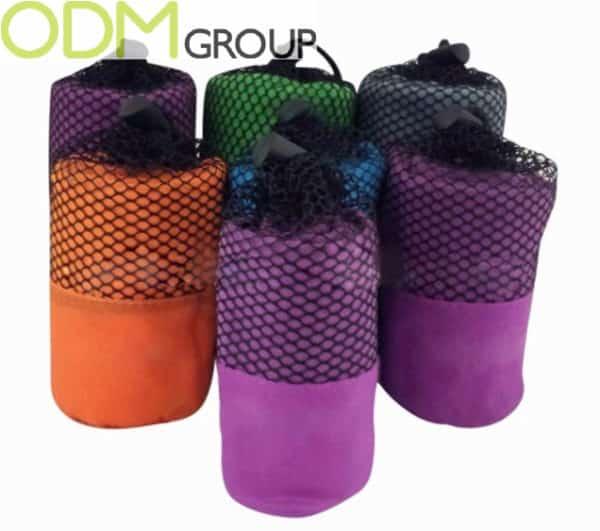 Outdoor Promotion Idea - Custom Microfiber Towel
