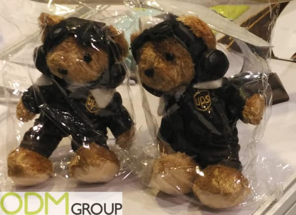 Custom Plush Toy - Promotional Mascot For UPS
