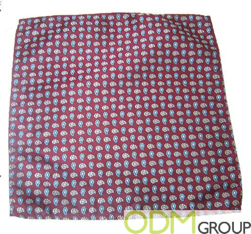 Event Promotion - Custom Silk Pocket Square