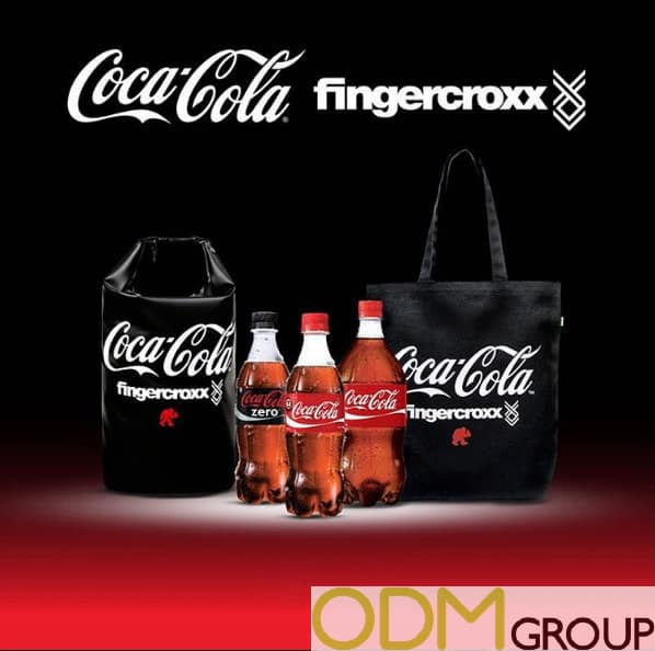 Fingercroxx and Coca Cola Promotional Collaboration