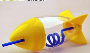 Kids Promotions - Custom Rocket Bottles.