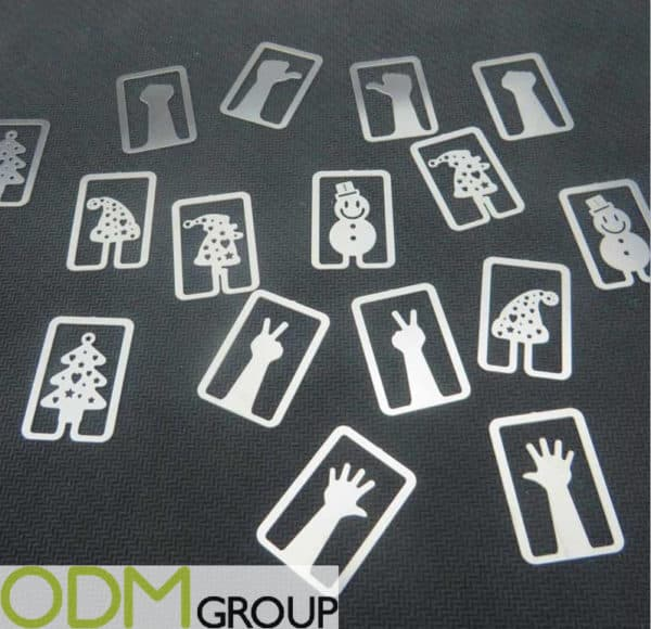 Make Custom Paper Clips In The Shape of Your Logo
