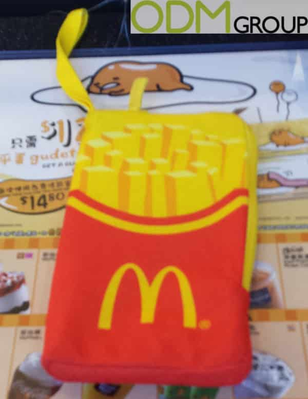 McDonalds Offer Branded Phone Pouch as Purchase Gift