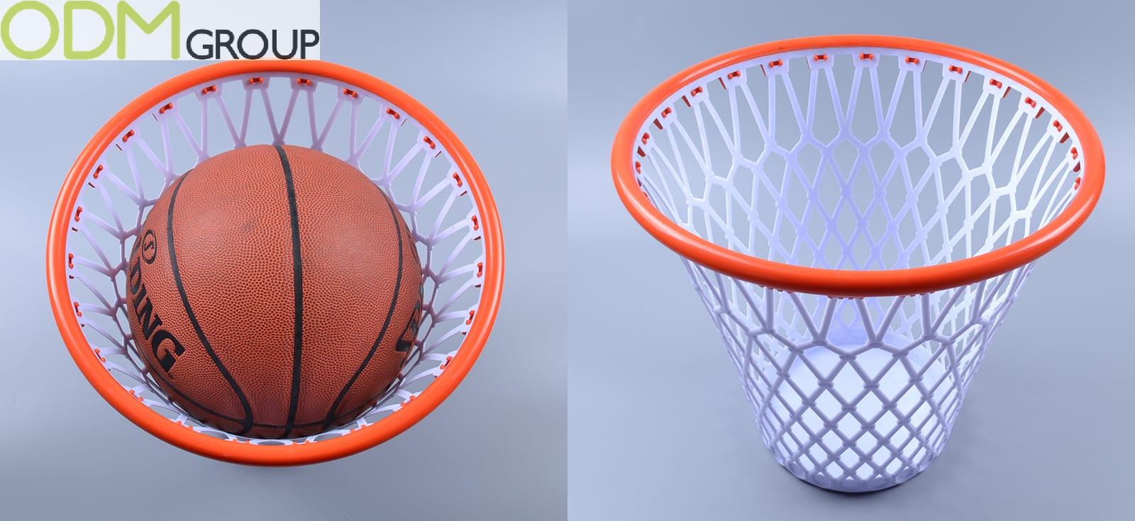 Office Promo Idea Basketball Trash Can