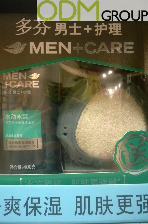 On Pack Free Gift from Dove - Branded Sponge