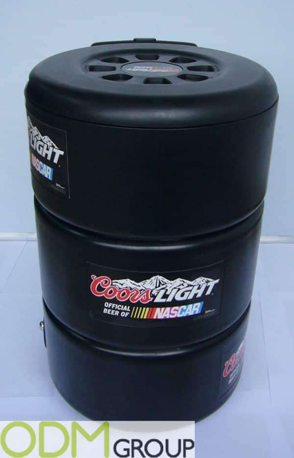 Promo Item for Automotive Industry - Custom Rolling Cooler