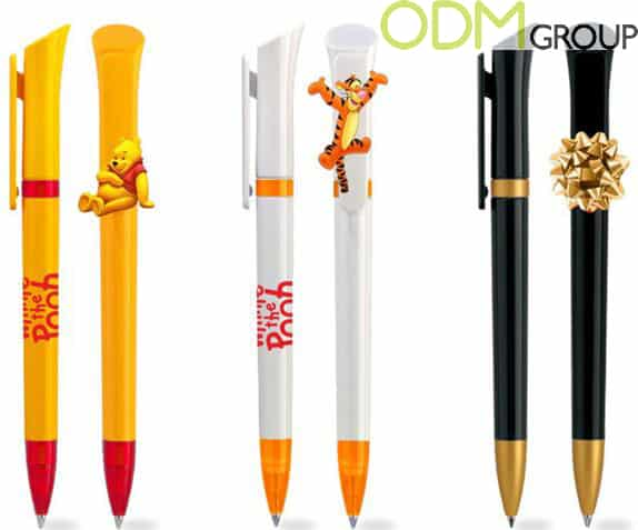 Promotional Plastic Pen with Customizable Clip