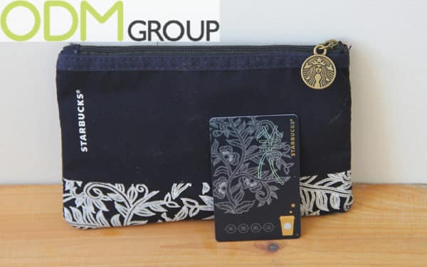 Starbucks Giveaway with Reward Card - Matching Pouch