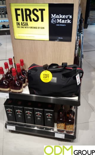 Drinks Promotion: Free Travel Bag by Whiskey Brands