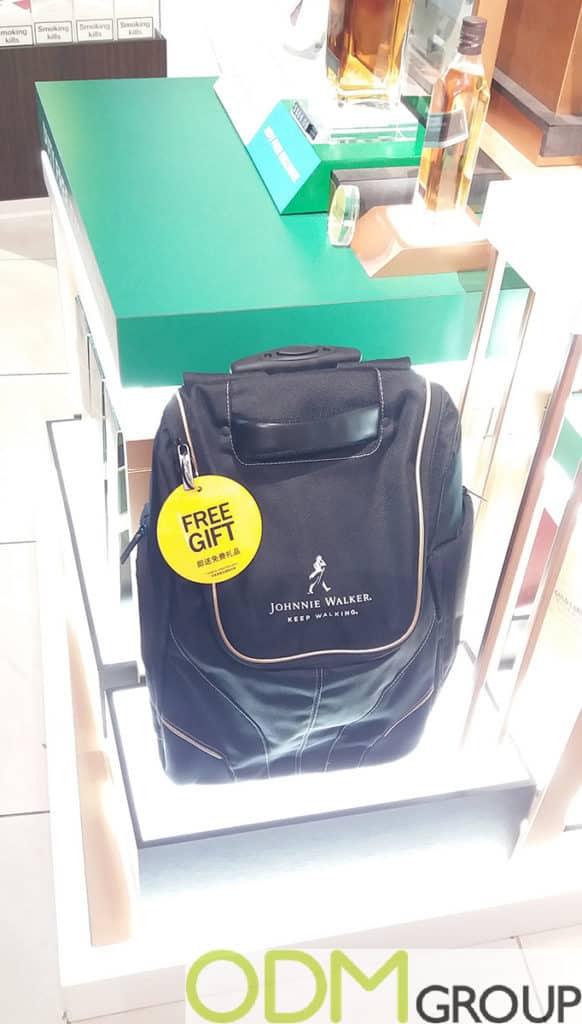 Duty Free Brand Promotion - Johnnie Walker Stand