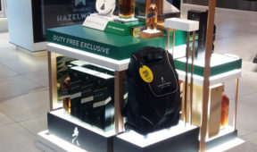 Duty Free Brand Promotion - Johnnie Walker Stand