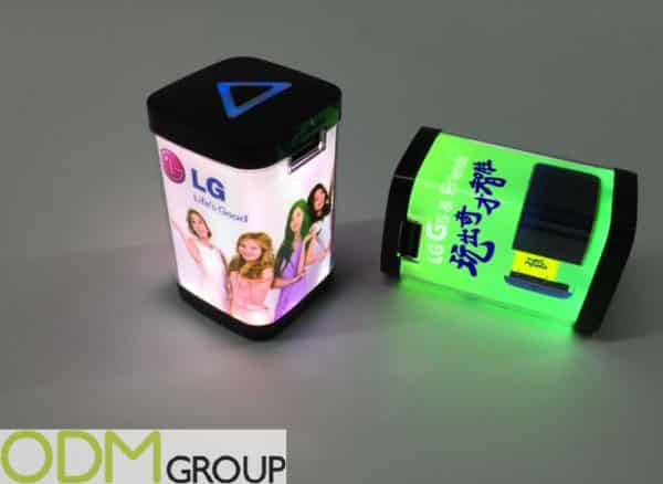 Innovative promotions - LED Charger with Photo Print