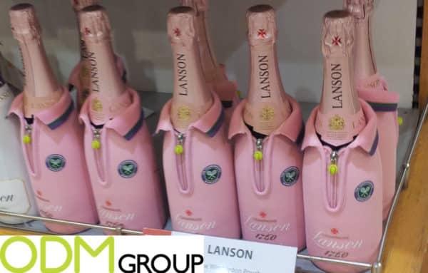 Lanson offers Branded Wine Bottle Cooler Jacket