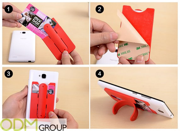 Low-Budget Promo Idea - Phone Stand & Card Holder