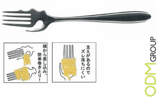 Pasta Promotional Product Idea - Twist Spaghetti Forks