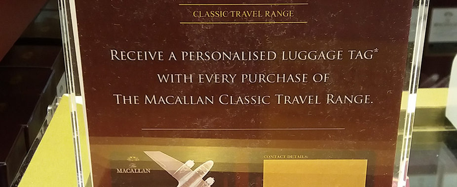 The Macallan Promo - Personalized Marketing Gifts in Store