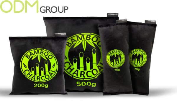 Unique Promotions - Bamboo Charcoal Bag Air Freshener