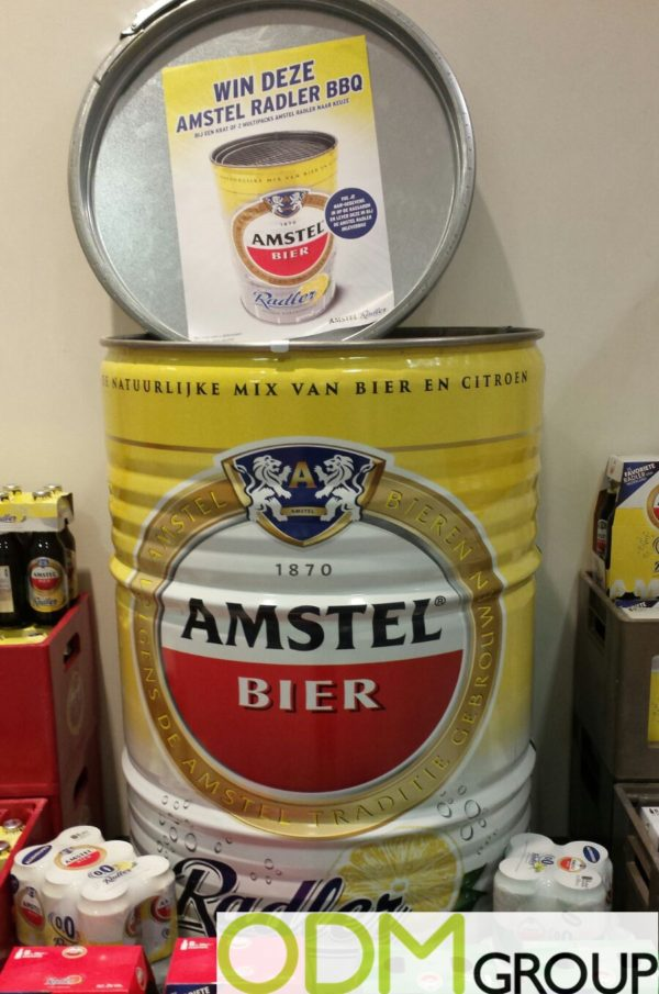 Competitive Promotion - Branded BBQ by Amstel Beer