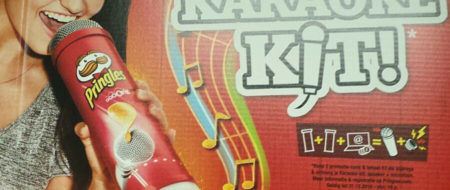 In Store Promo - Custom Karaoke Set by Pringles