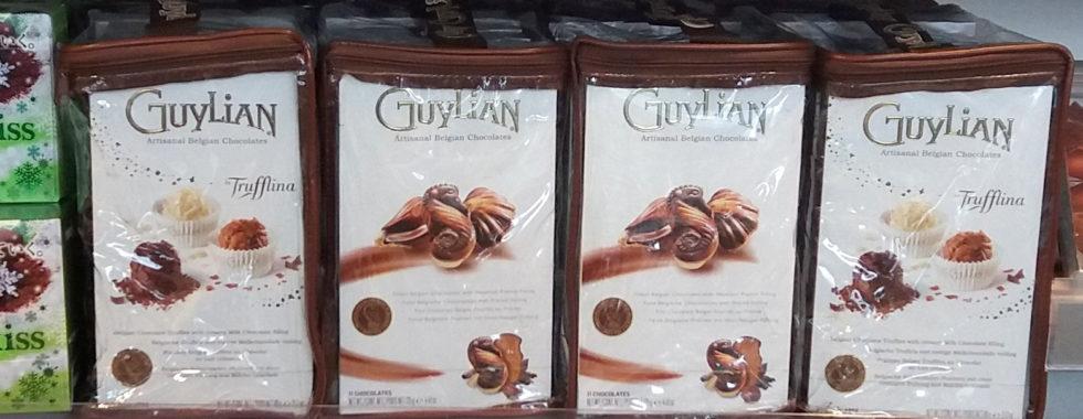 Instore Marketing - Guylian Branded Bag Packaging