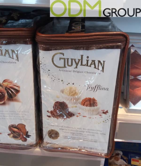 Instore Marketing - Guylian Branded Bag Packaging