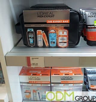 L'Oréal for Men offers Travel Pouch as Gift With Purchase