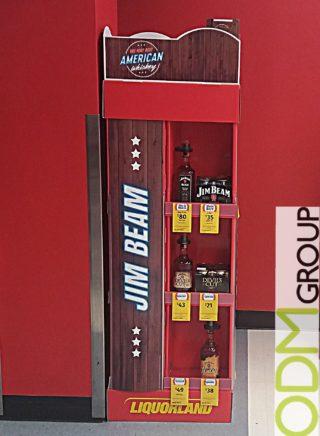 Liquorland POS Display for Jack Daniel's & Jim Beam