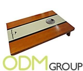 New Product: Branded Cornhole Toss Throw Game