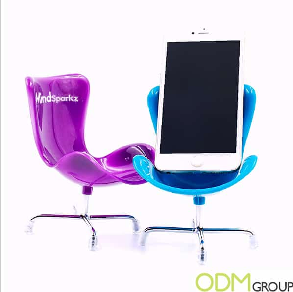 Branded Tech Promo - Chair Phone Holders