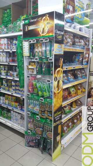 Product Launch: Instore Marketing Display by Darlie