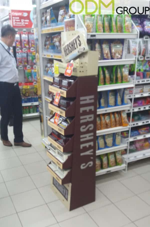 Promo Display Idea – Instore Pos by Hershey's