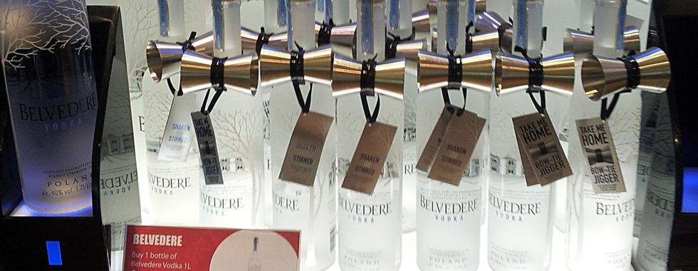 Promotional Cocktail Jigger by Belveder